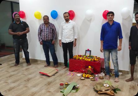 Office Warming-LK New Office,Bangalore
